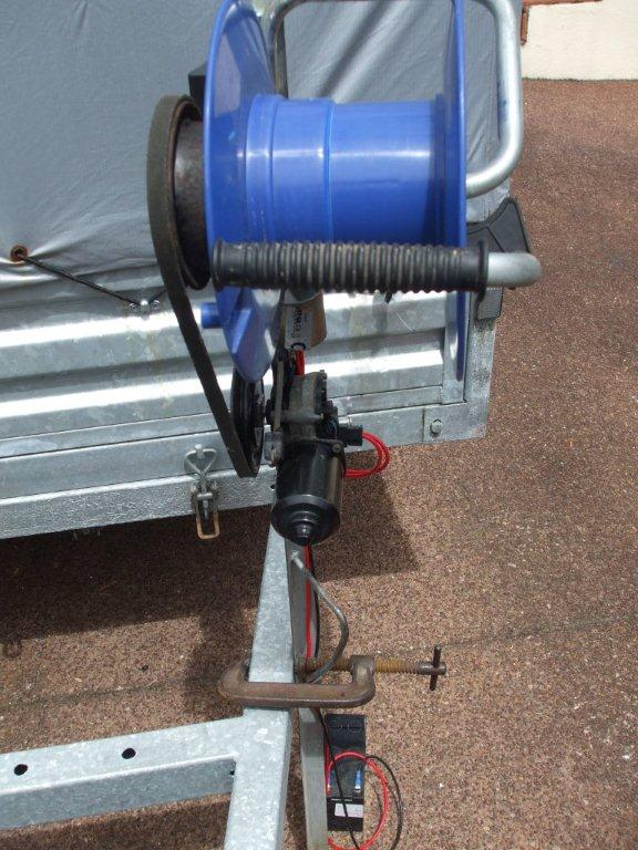 4 way chess online 7 wire trailer diagram markssupplies building the fishing kontiki winch - marks supplies