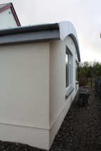 Curved roof/fascia detail