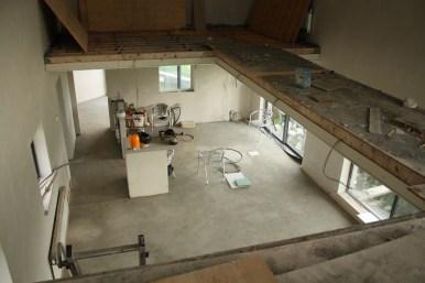 Mezzanine looking down