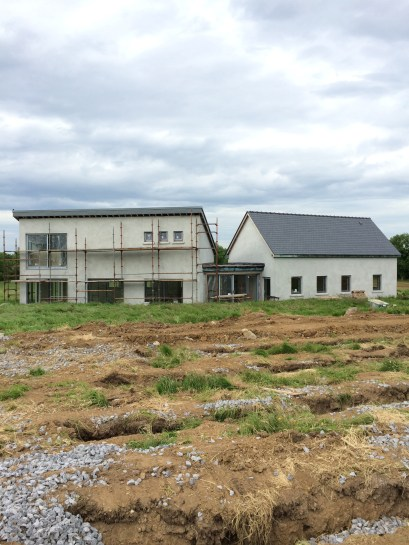 Rural House in County Longford Nearing Completion