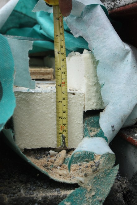 Insulation thickness check