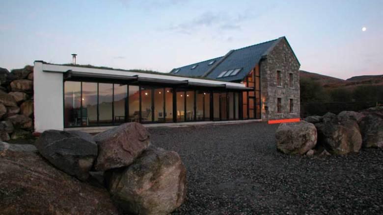 house design in rural ireland narrowplan mark stephens architects