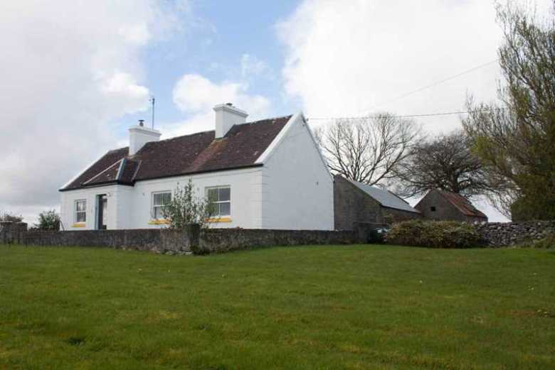 Double pitched extension to traditional Co. Mayo cottage