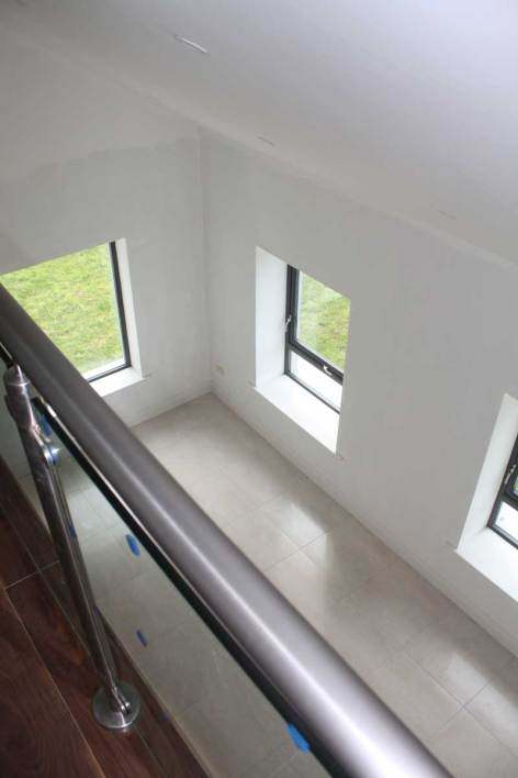 View on other side of mezzanine to sitting room