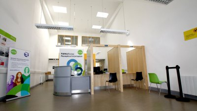 commercial architect fit-out office example