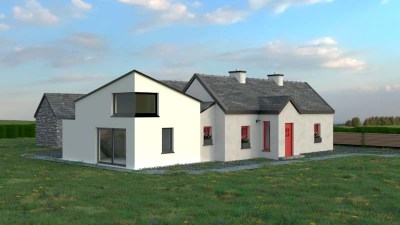 Planning permission granted on this Mayo contemporary extension to Cottage