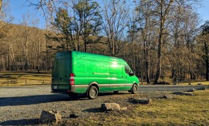 mark the green van