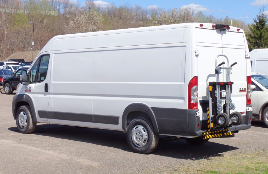 a dodge ram promaster might meet your vanlife vehicle needs