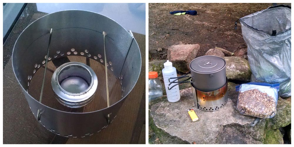 homemade alcohol backpacking stove