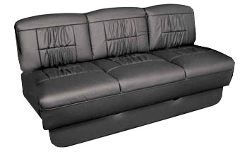 van sofa seat-bed in seat mode