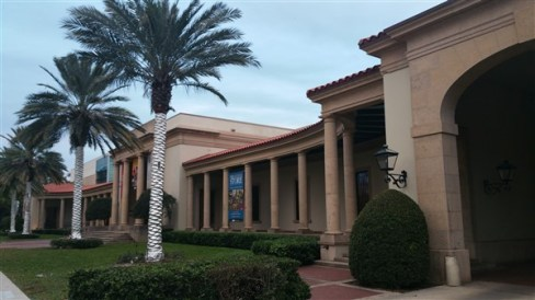 The Museum of Fine Arts on Beach Drive in downtown St. Petersburg, Florida