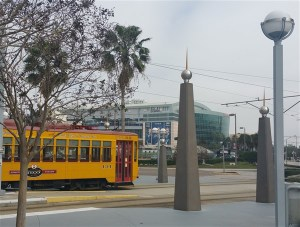 The TECO Trolley has a few stops conveniently located near Amalie Arena
