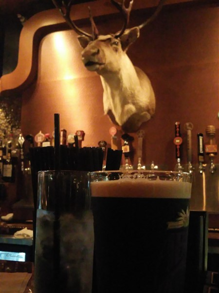 The Tap Room Bar and Grill has 2 nitro beers on tap