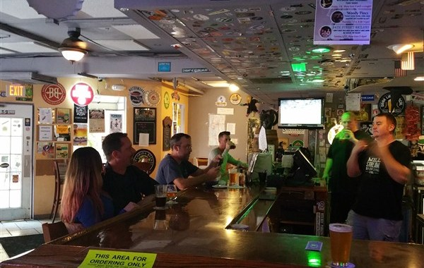 The Ale and the Witch is a favorite craft beer bar among local beer geeks in the burg