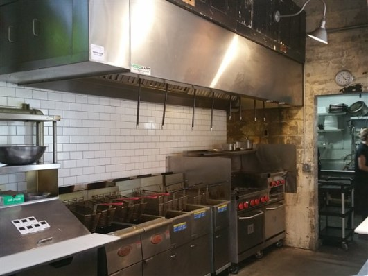 The Kitchen at Urban Comfort Restaurant and Brewery in St. Petersburg, Florida