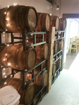 Barrel aged craft beer at Avid Brew Company in St. Pete, FL