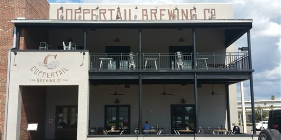 Coppertail Brewing Company in Ybor City Tampa, Florida