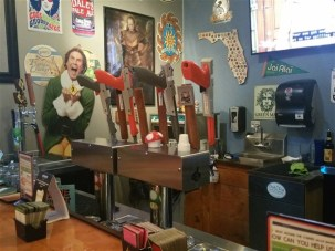 Skee ball at Right Around the Corner Arcade Brewery and Craft Beer Bar in St. Pete