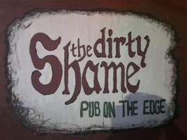The Dirty Shame is a pub on the edge of Centro Ybor in Tampa, Florida