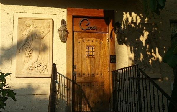 The entrance at Ciro's Speakeasy and Supper Club in Tampa