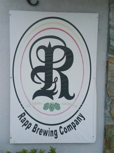 The Logo at Rapp Brewing Company in Tampa Bay