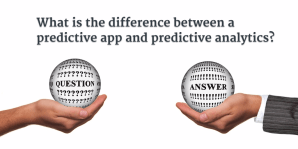 Predcitive Apps vs. Predictive Analytics
