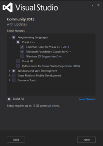 Visual Studio Options