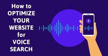 optimze mobile website voice search