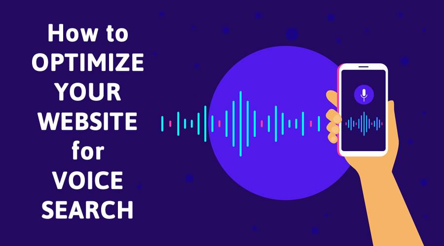 optimze mobile website voice search