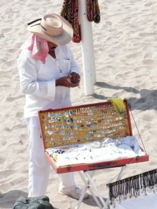 Selling Jewelry on the Beach in Mexico