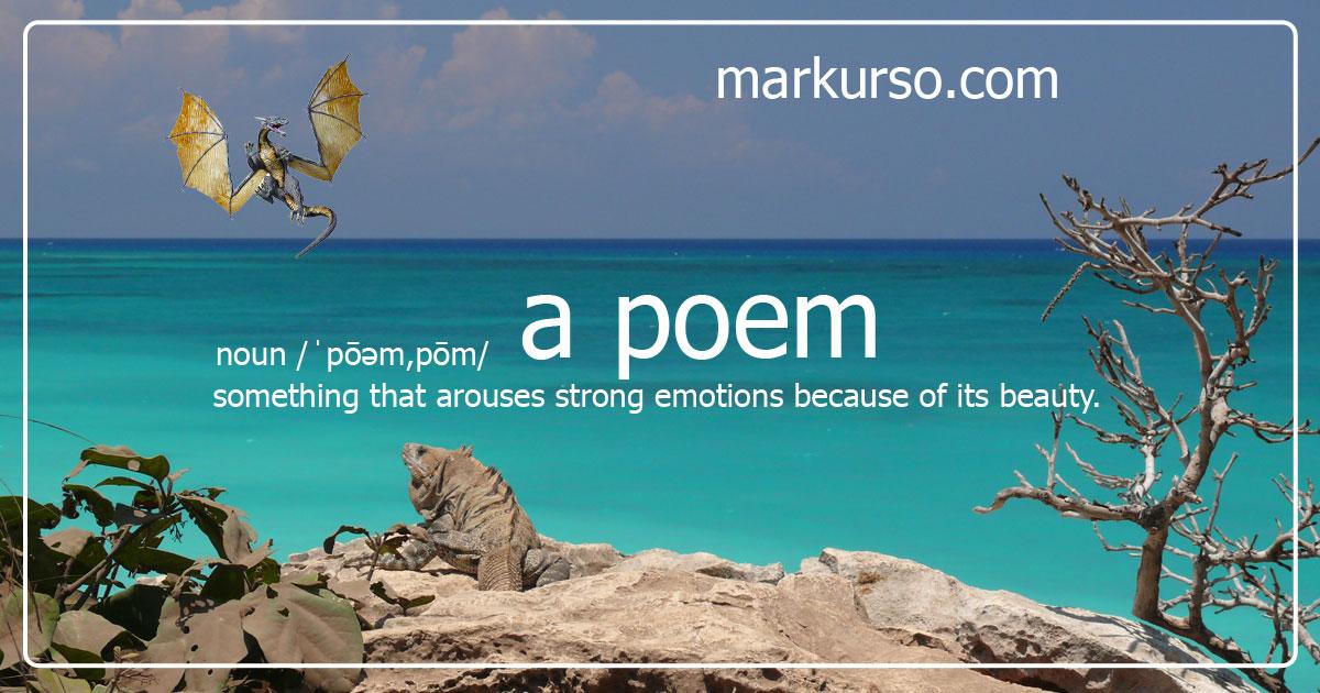 A Poem Banner