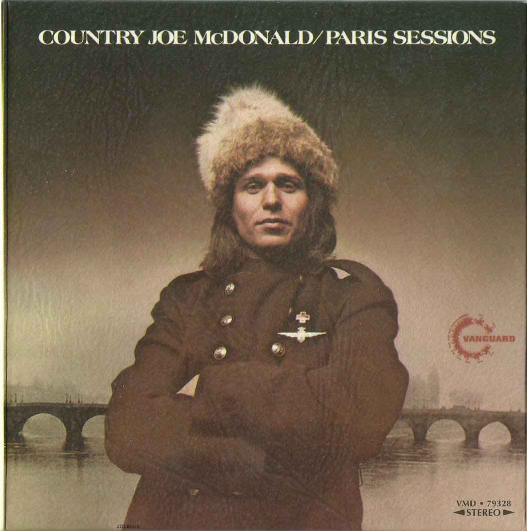 country joe paris sessions