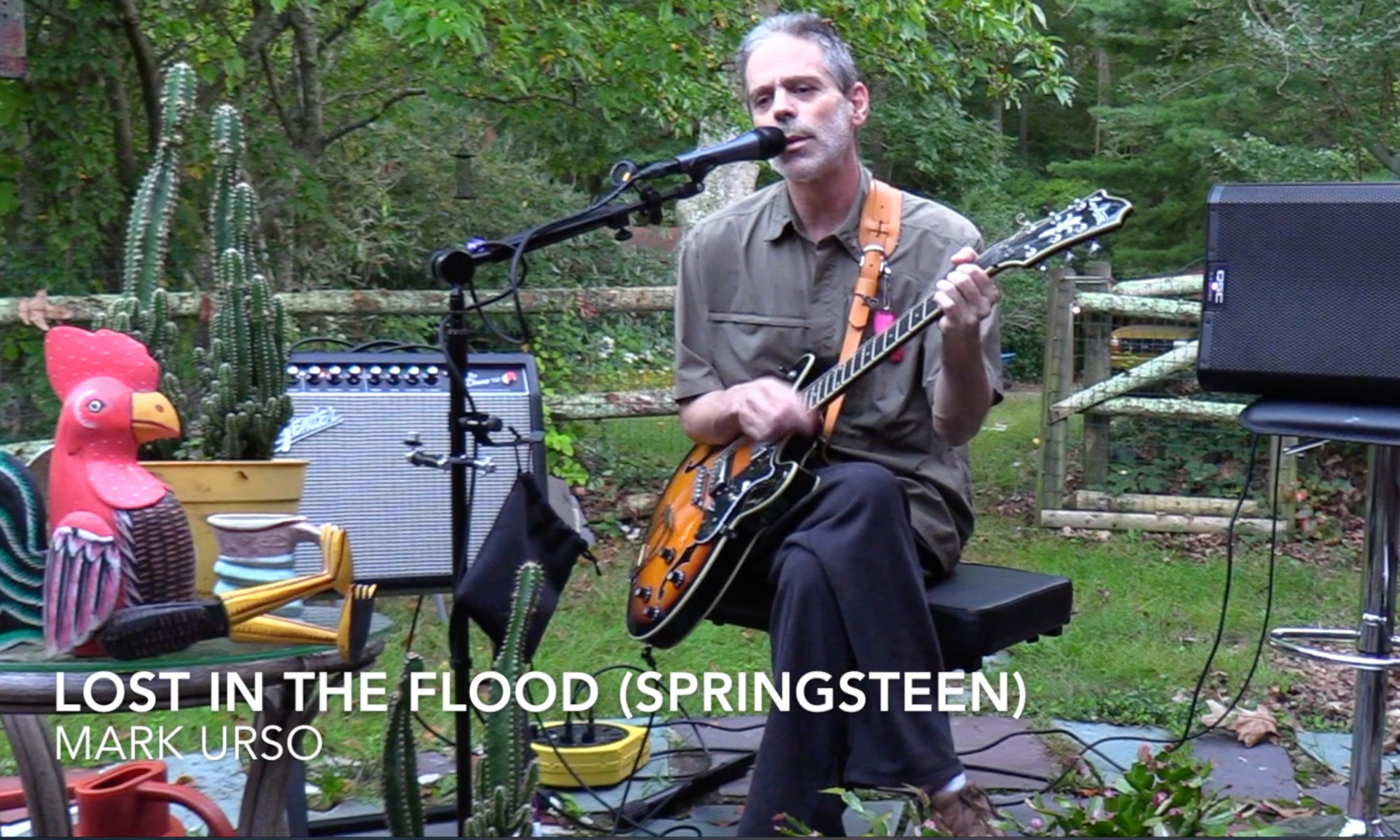 lost in the flood springsteen mark urso