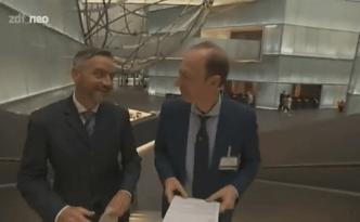 Interview Martin Sonneborn mit Deutsche-Bank Mitarbeiter Georgi zum Finanzsystem (Bild: ZDF)