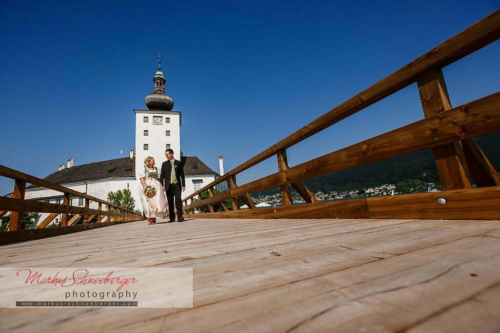 Standesamtliche Trauung Schloss Ort Gmunden