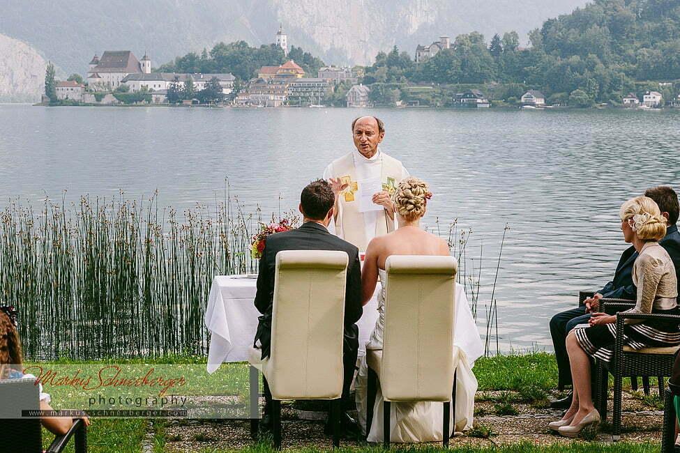 Eine Hochzeit in der Spitzvilla am Traunsee