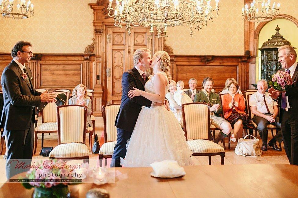 Bianca und Christoph  eine Hochzeit am Mondsee und Schloss Leopoldskron in Salzburg