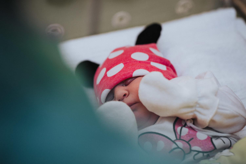 Bilder einer Geburt in der St Hedwig Klinik Mannheim