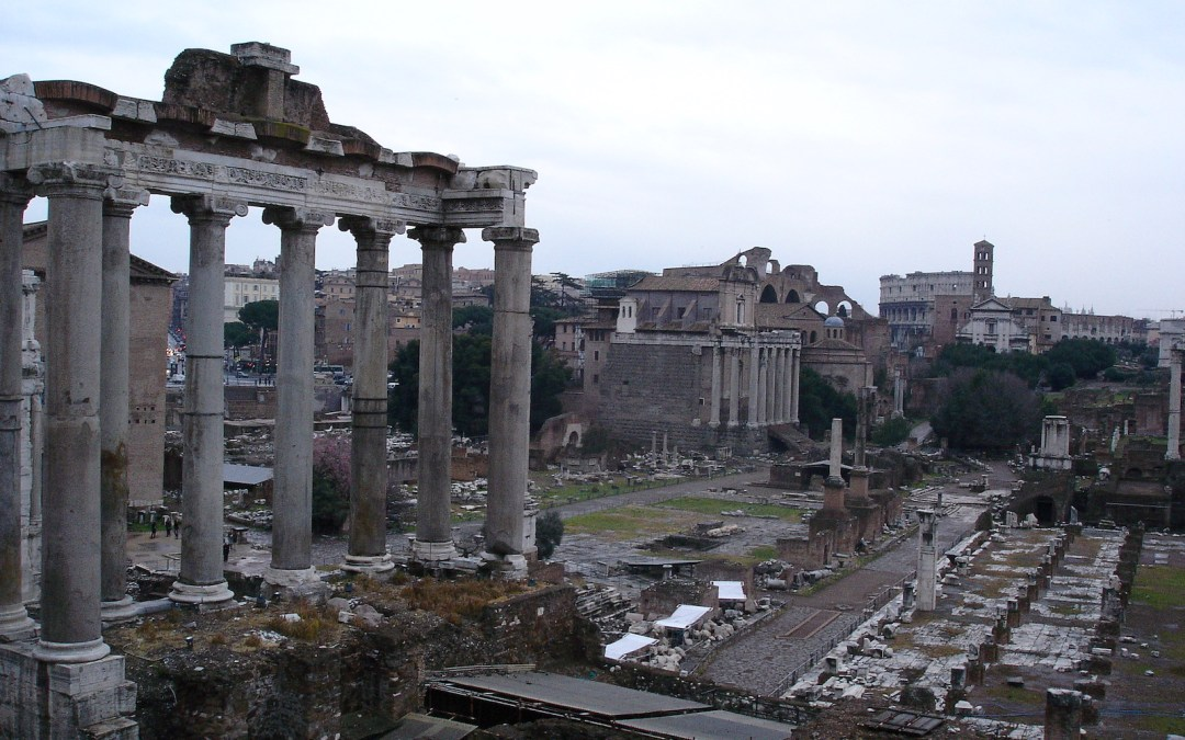 The ancient city of Rome and the novel Onesimus