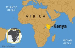 Kenya Location