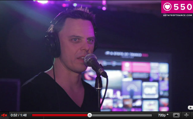 ASOT550 Interview - Kiev