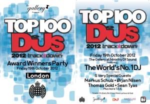 Top 100 Flyer DJ Mag