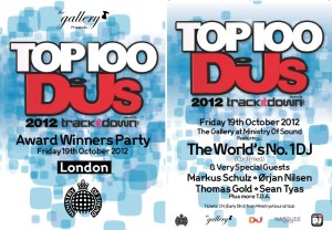 Top 100 Flyer DJ Mag