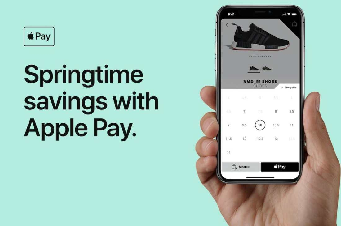 Apple Pay Adidas
