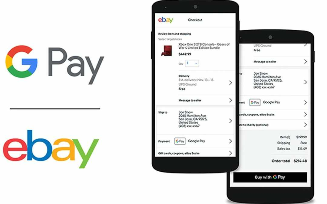 eBay Google Pay