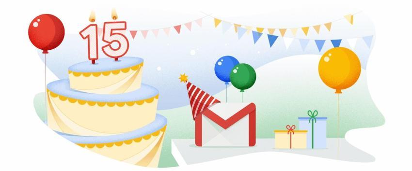 GMail Geburtstag