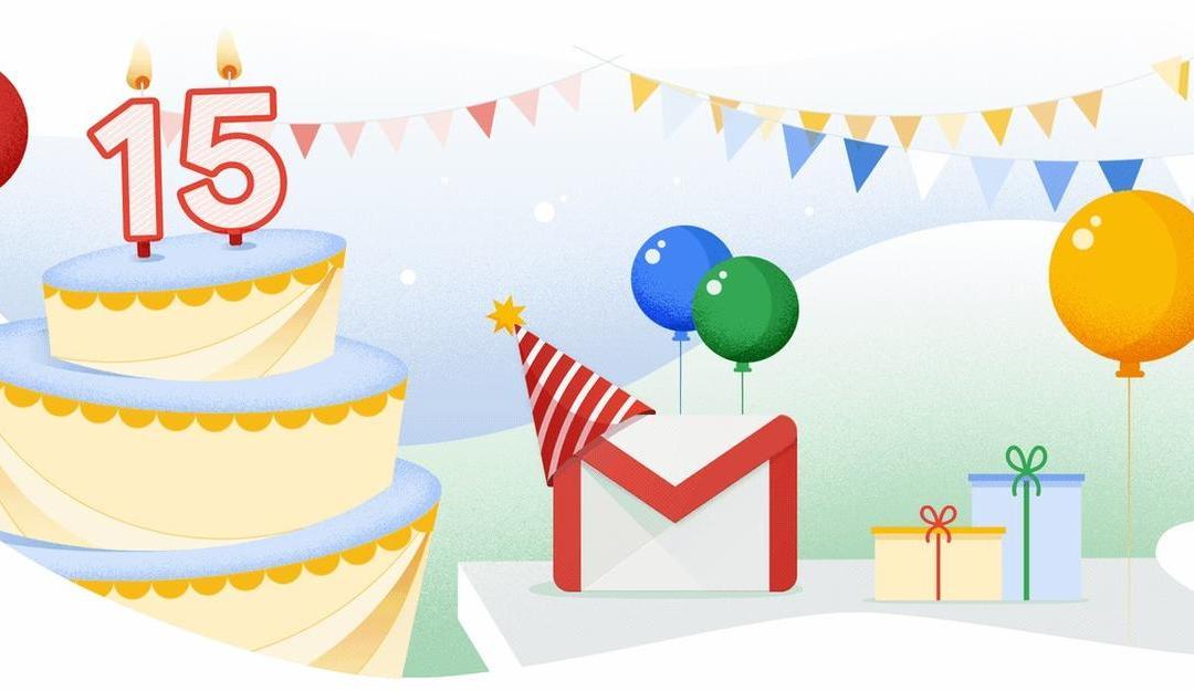 Gmail: Neue Features zum 15. Geburtstag