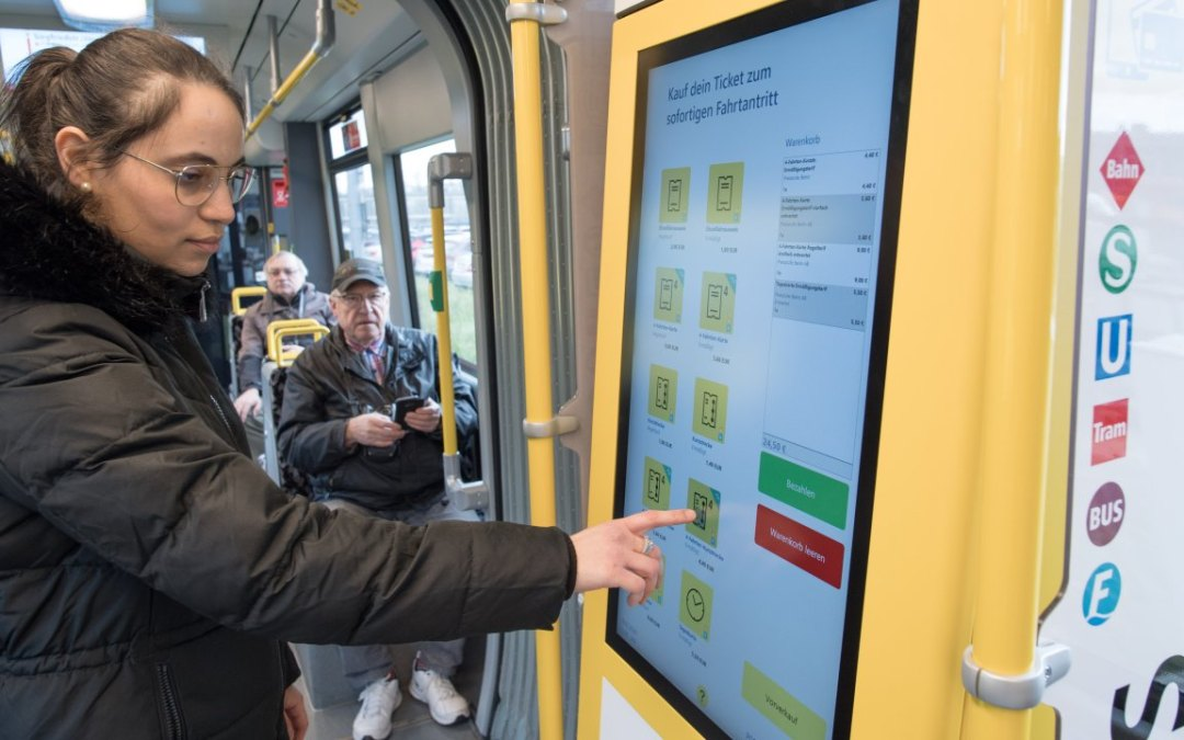 "BVG testet neue ""Cashless-Only""-Ticketautomaten"