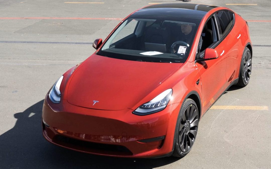 Teslas 1.000.000. E-Auto rollt vom Band