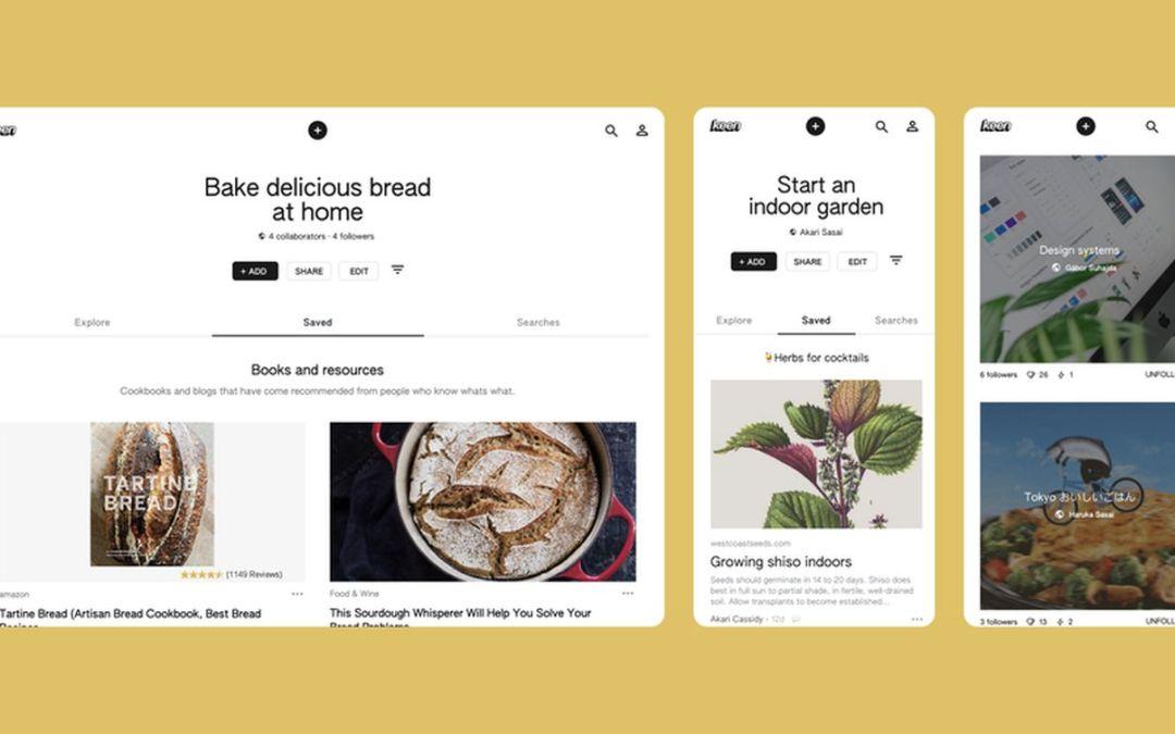 """""""Keen"""": Google veröffentlicht Pinterest-Rivalen"""
